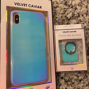 Velvet Caviar Nebula I Home case & nebula ring NEW